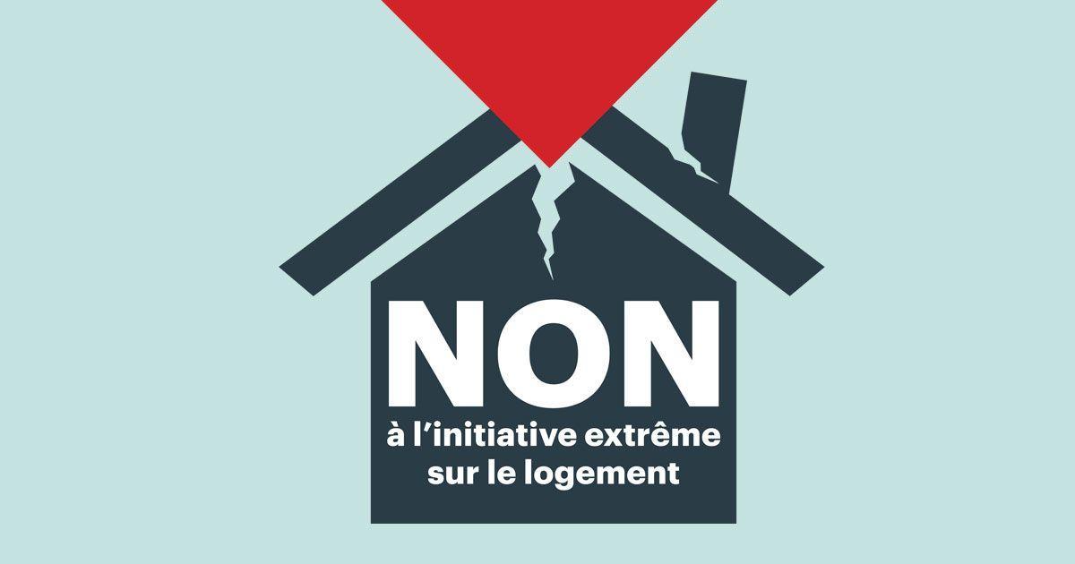NON à l'initiative « Davantage de logements abordables »